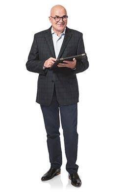 Rechtsanwalt Hans Theisen nutz die Kanzleisoftware mobil