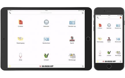 Die RA-MICRO APP für Tablet und Smartphone